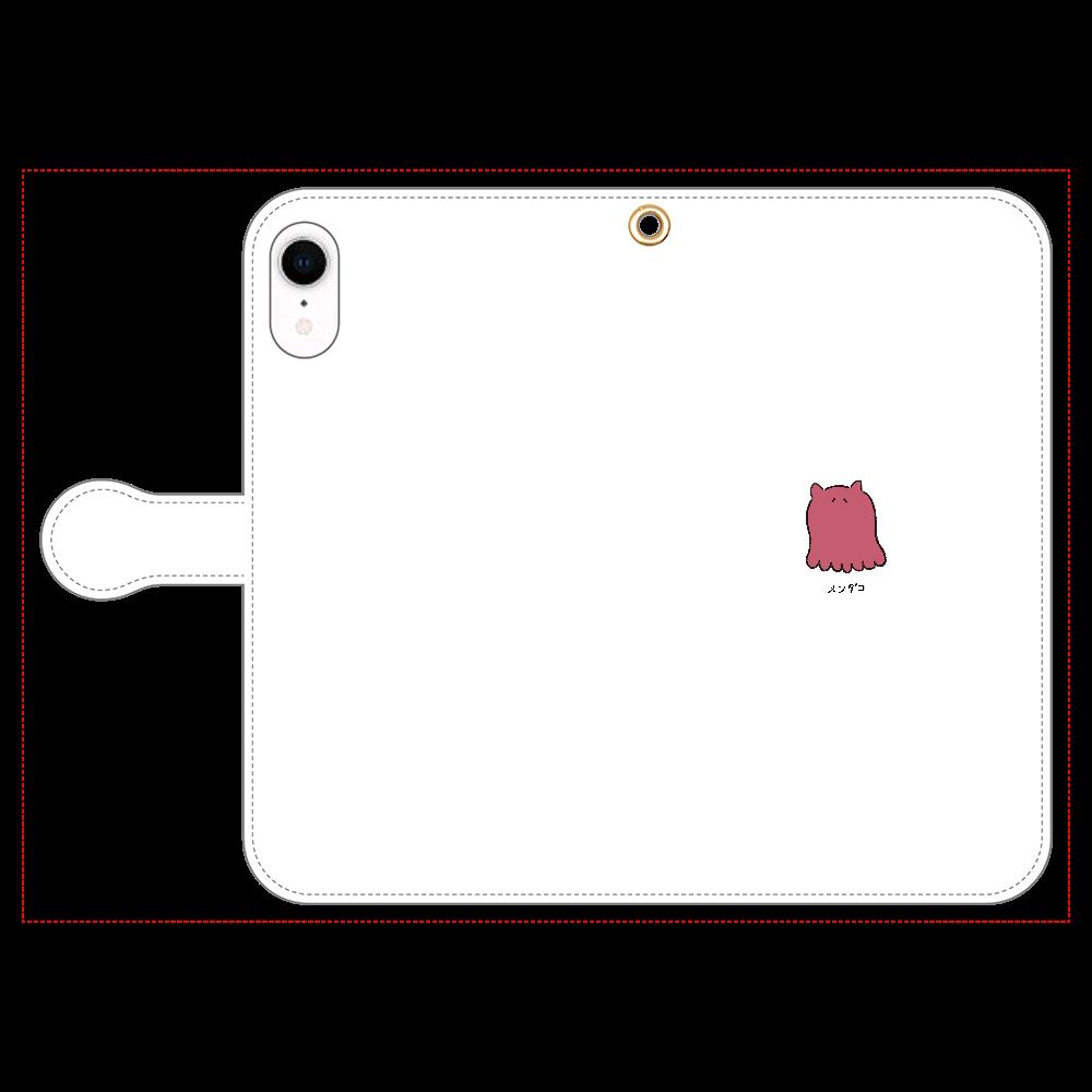 メンダコさん 手帳型スマホケース iPhone XR 手帳型スマホケース