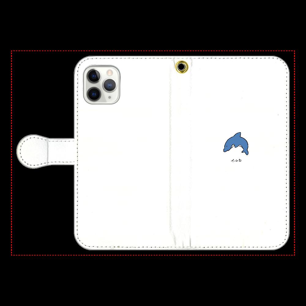 イルカさん 手帳型スマホケース iPhone11 Pro 手帳型スマホケース