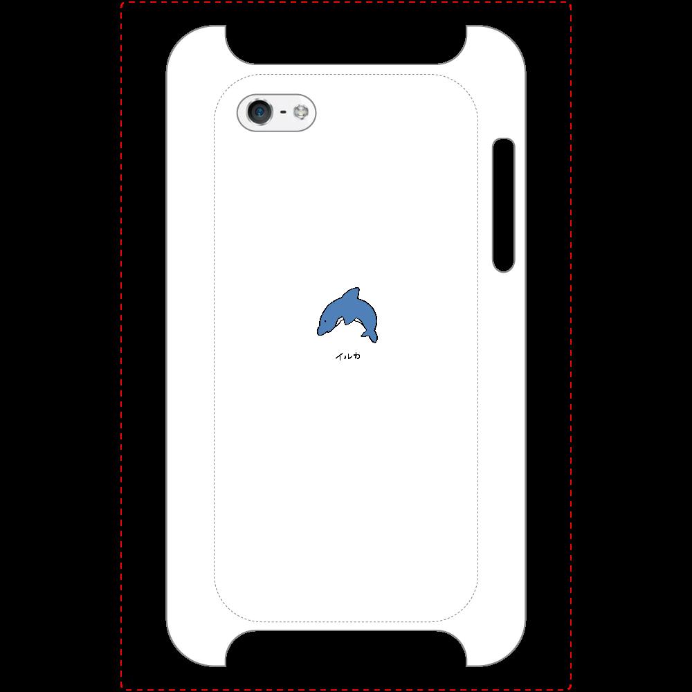 イルカさん マットスマホケース iPhone5/5s/SE