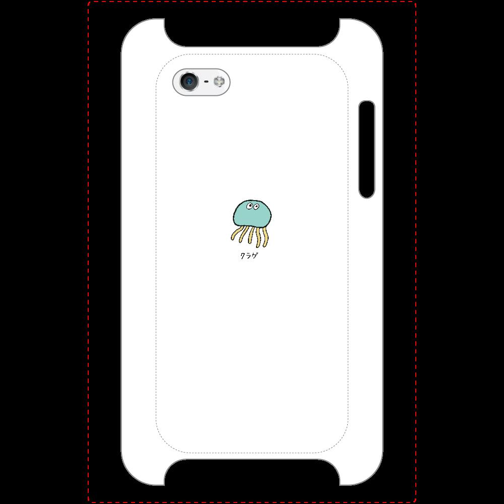 クラゲさん マットスマホケース iPhone5/5s/SE