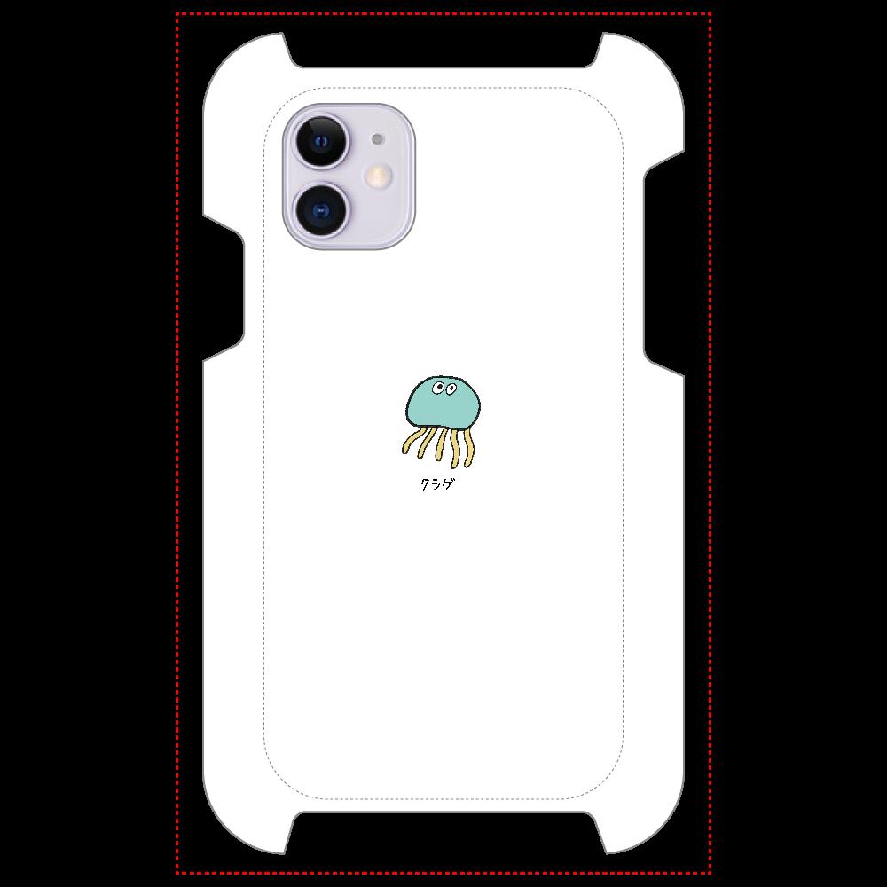 クラゲさん マットスマホケース iPhone 11