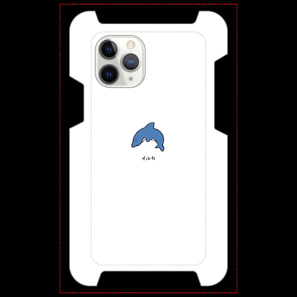 イルカさん マットスマホケース iPhone 11 Pro