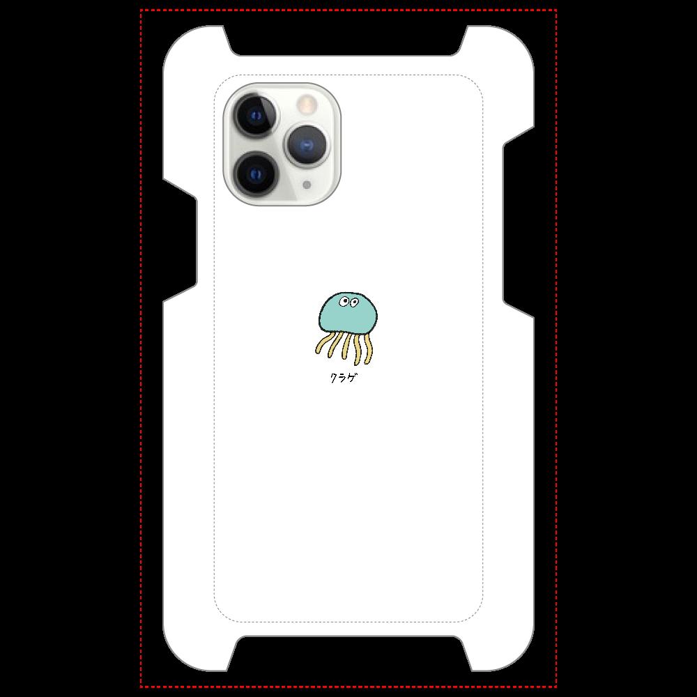 クラゲさん マットスマホケース iPhone 11 Pro