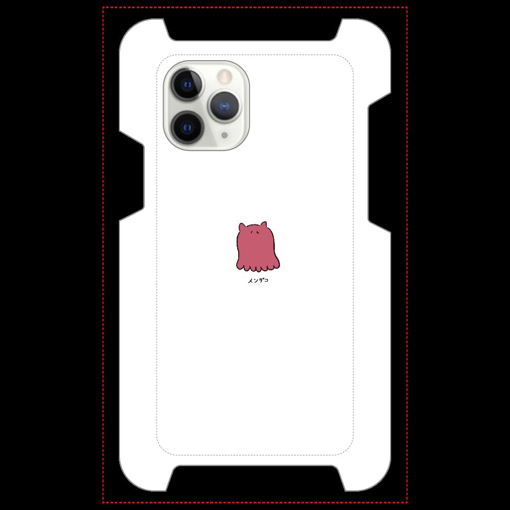 メンダコさん マットスマホケース iPhone 11 Pro