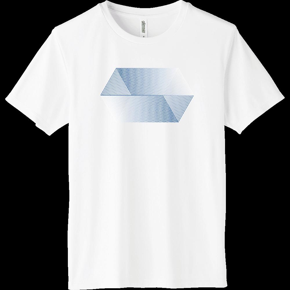 blue_001 インターロックドライTシャツ