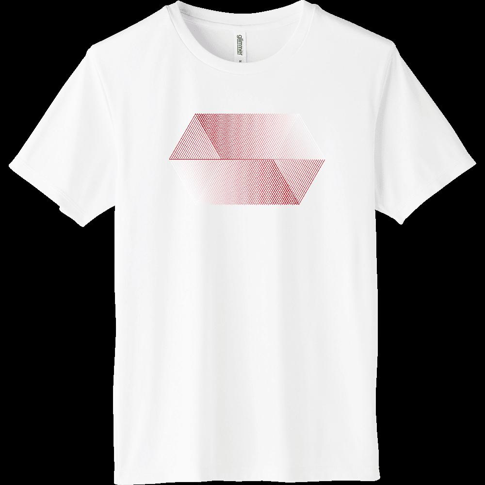 red_001 インターロックドライTシャツ