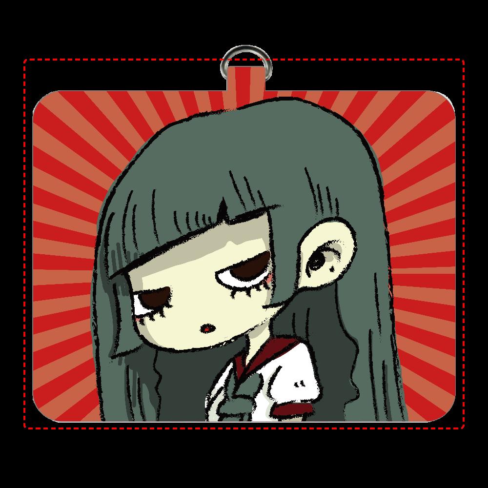 オリジナル漫画動画「昭和妖怪譚 神無子(カナコ)」より パスケース パスケース