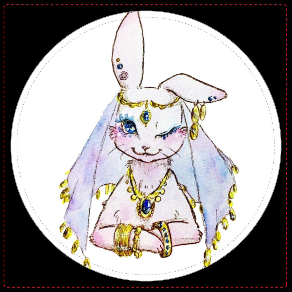 ウサギの占い師 コインケース