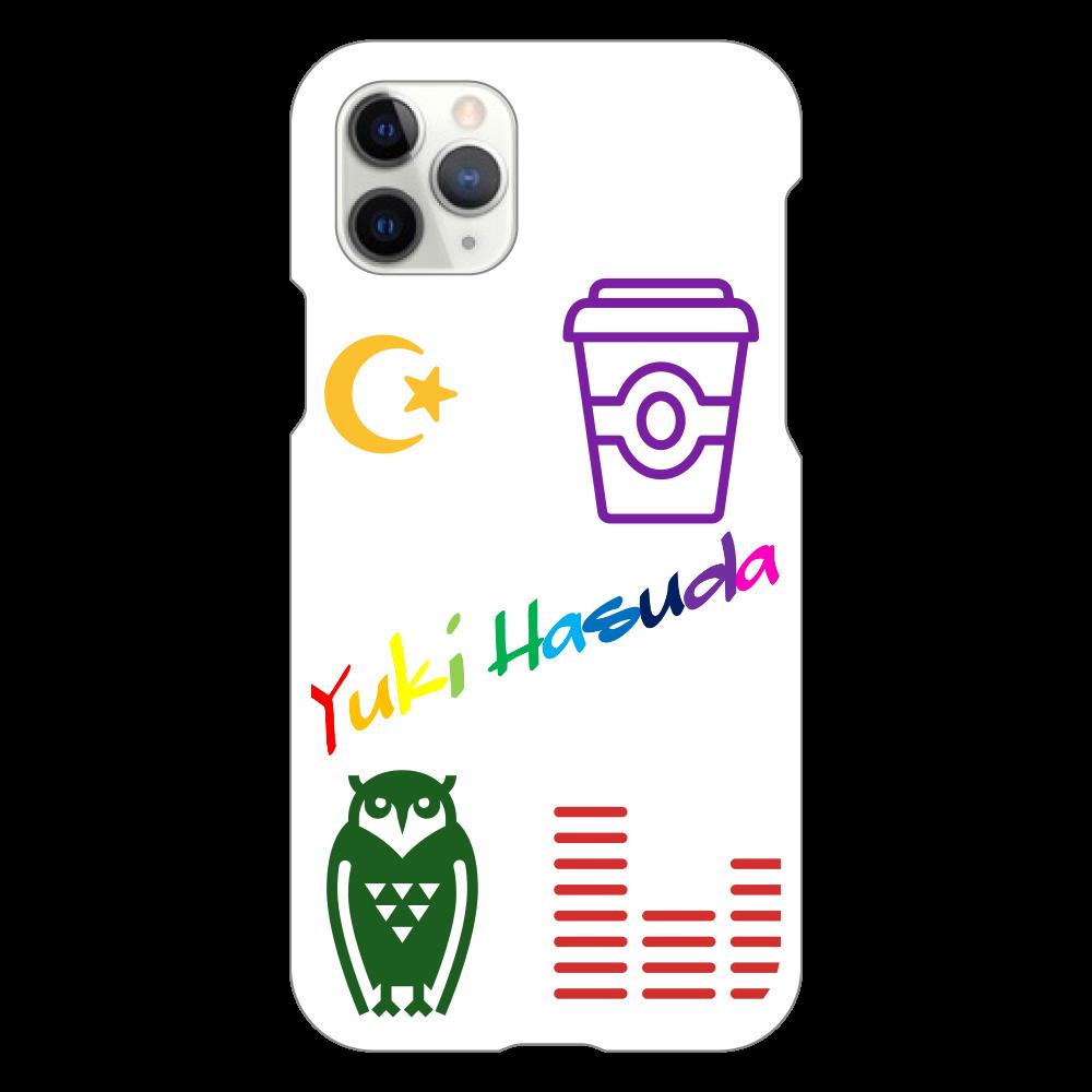 はすだゆーきのすまほけーす(Iphone11pro用)  iPhone11 Pro(白)