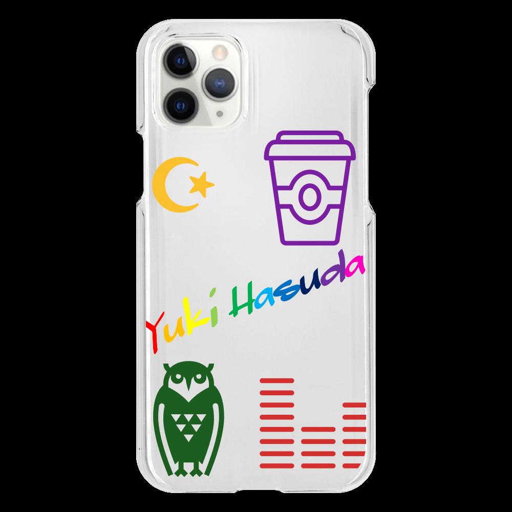 はすだゆーきのすけるとんすまほけーす(Iphone11pro用)  iPhone11 Pro(透明)