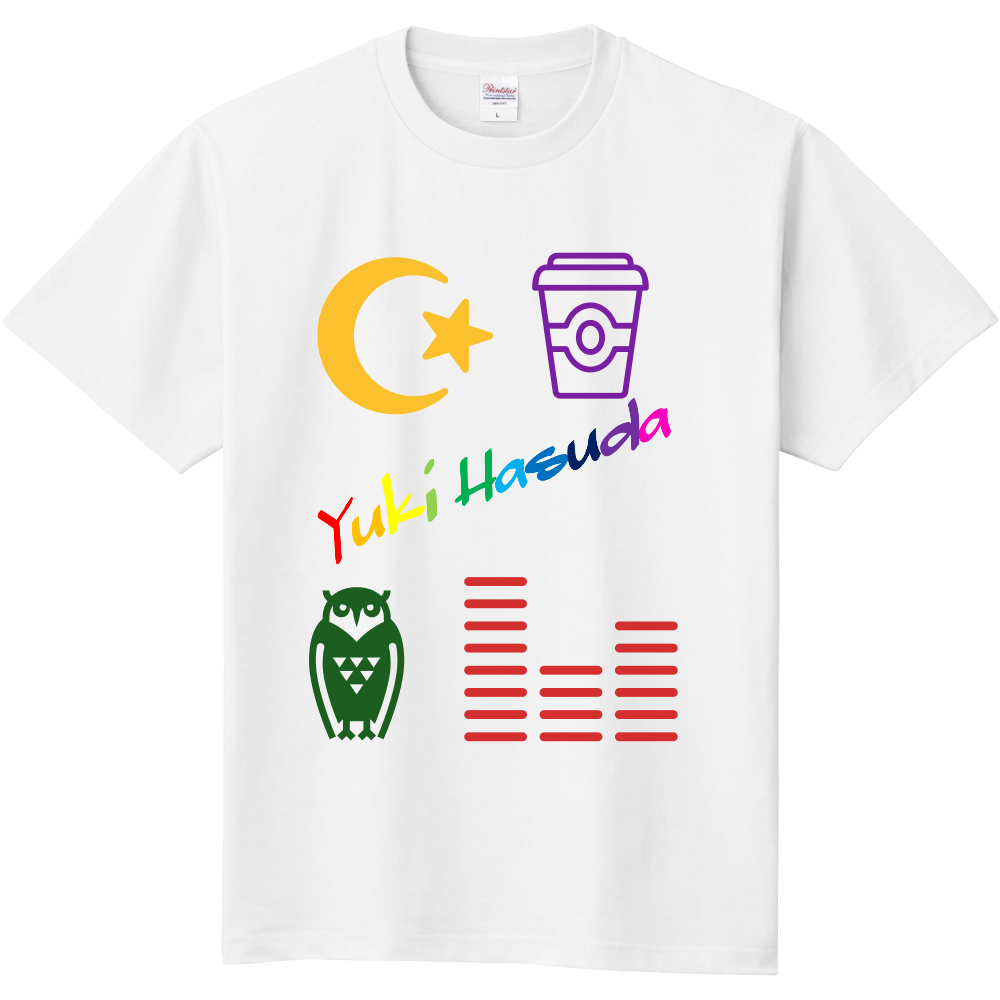 はすだゆーきのてぃーしゃつ 定番Tシャツ
