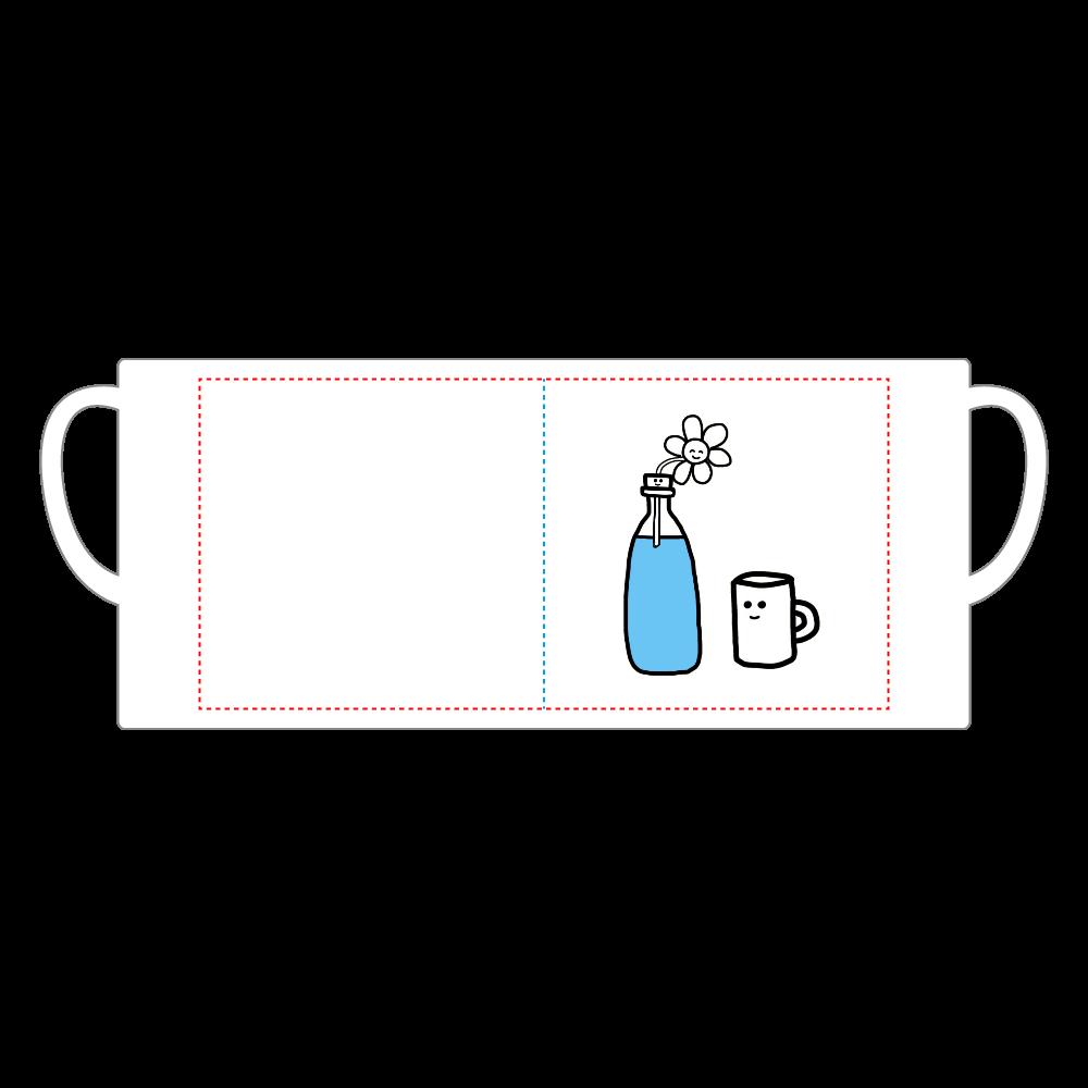 コップくん 陶器マグストレート(M)