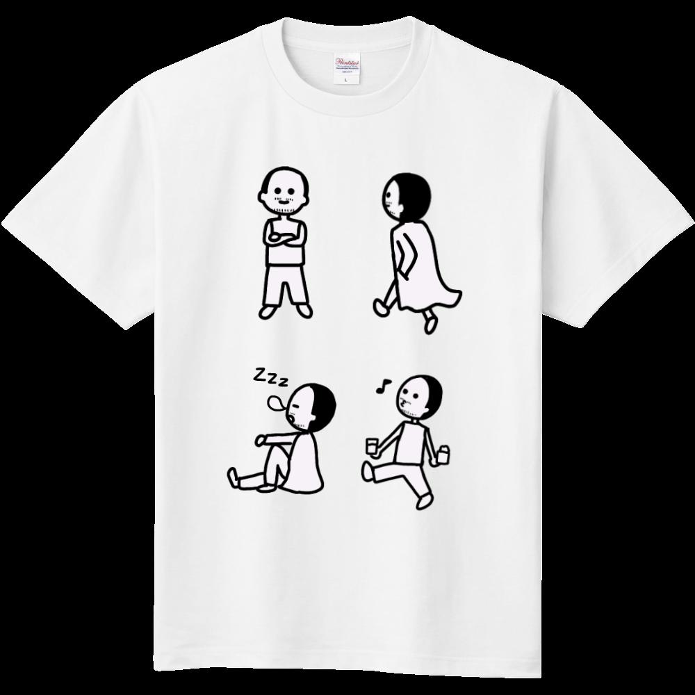 クーポン券おじさん 定番Tシャツ