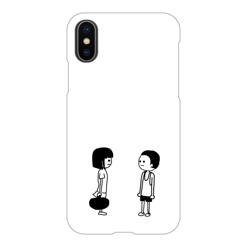 また会える? iPhoneX/Xs(透明)