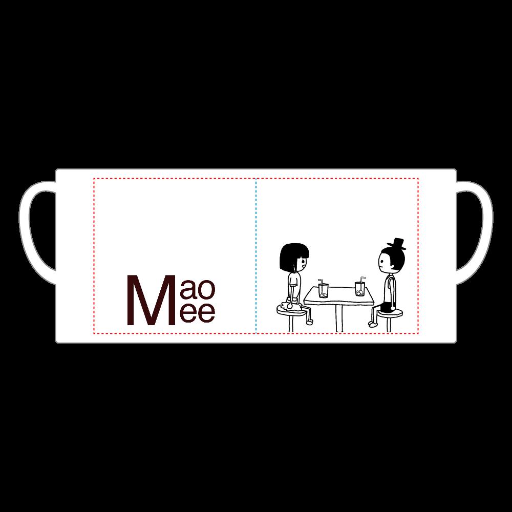 喫茶店で再会 陶器マグストレート(M)