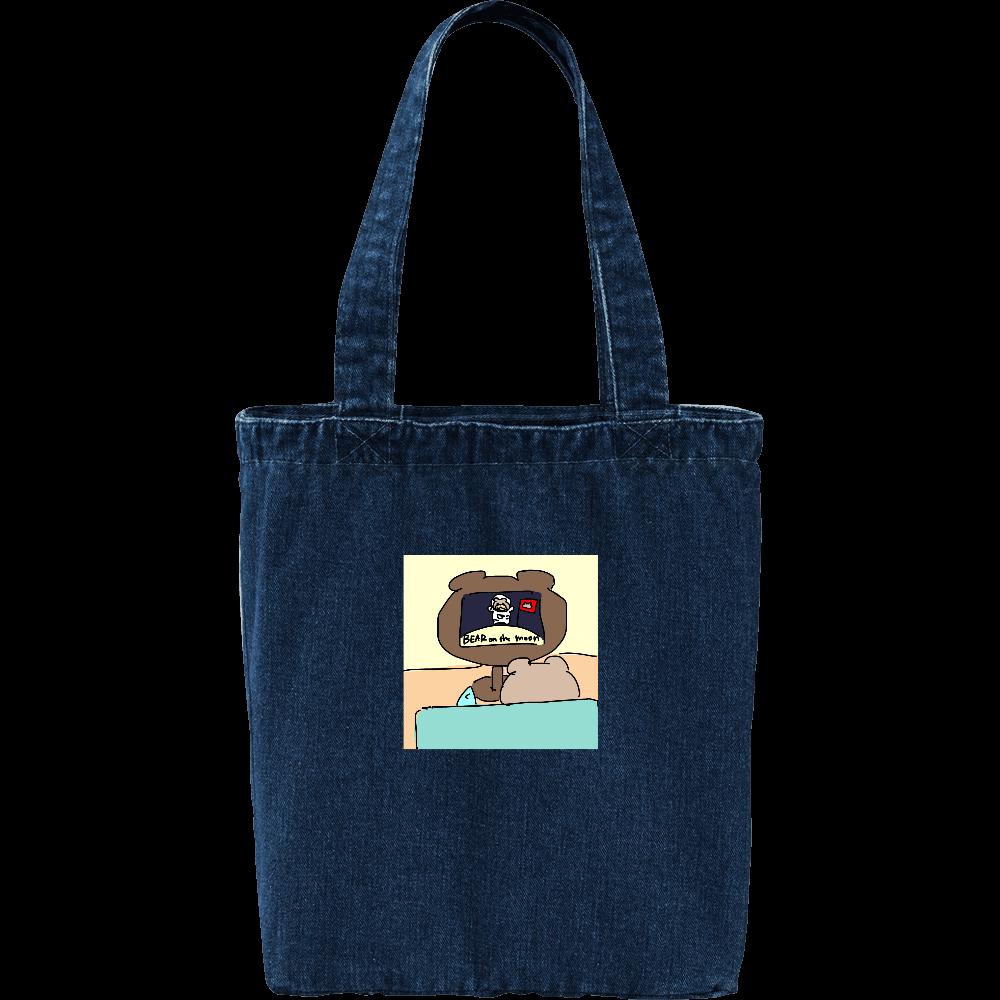 マグロックマデニムトートバッグ(ロゴなし) デニム トートバッグ