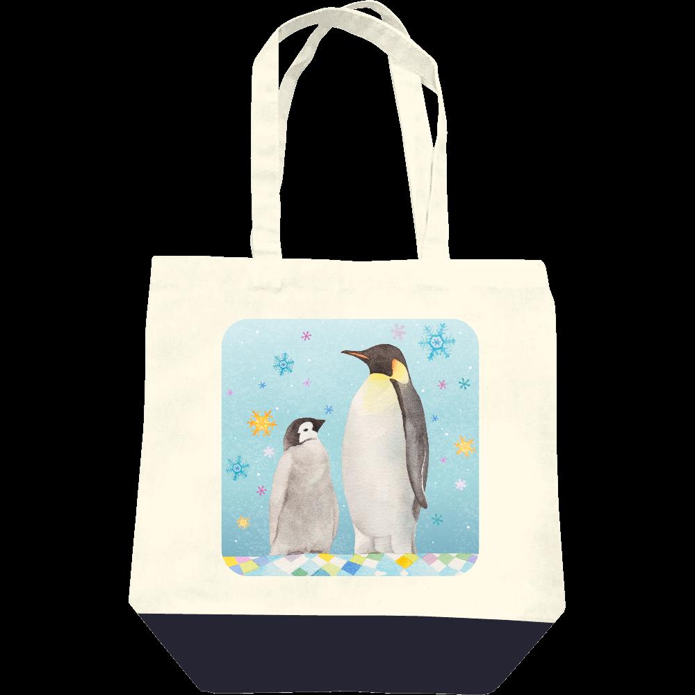 ペンギンの親子トートバッグ レギュラーキャンバストートバッグ(M)