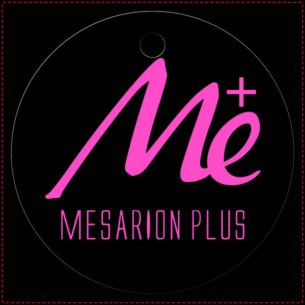 MESARION+キーホルダー レザーキーホルダー(丸型)
