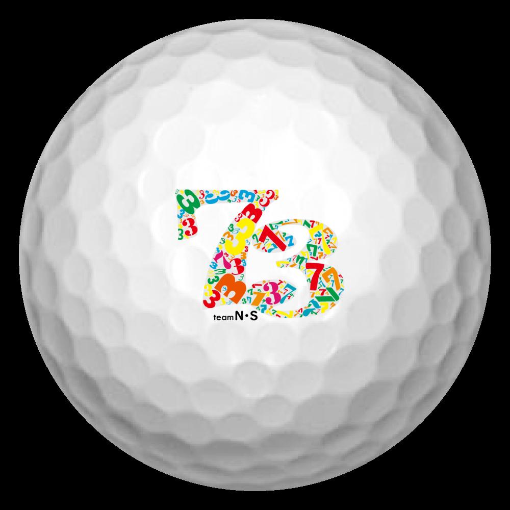 73ボール ゴルフボール(3個セット)