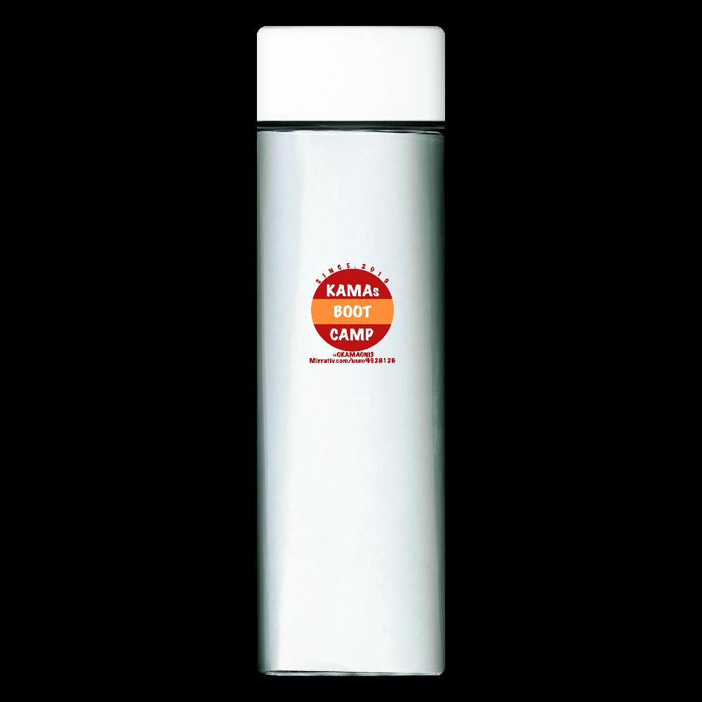 サークルデザインボトル スクエアクリアボトル