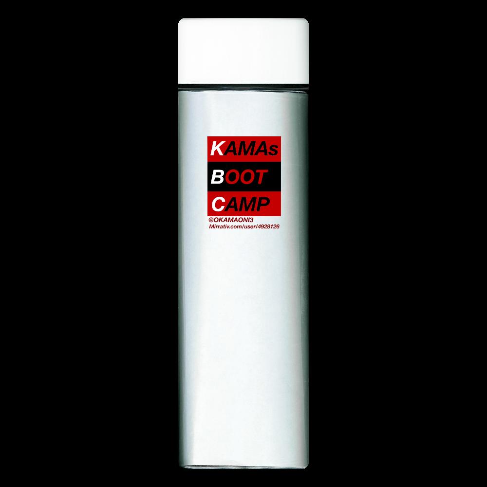 ボックスデザインボトル スクエアクリアボトル