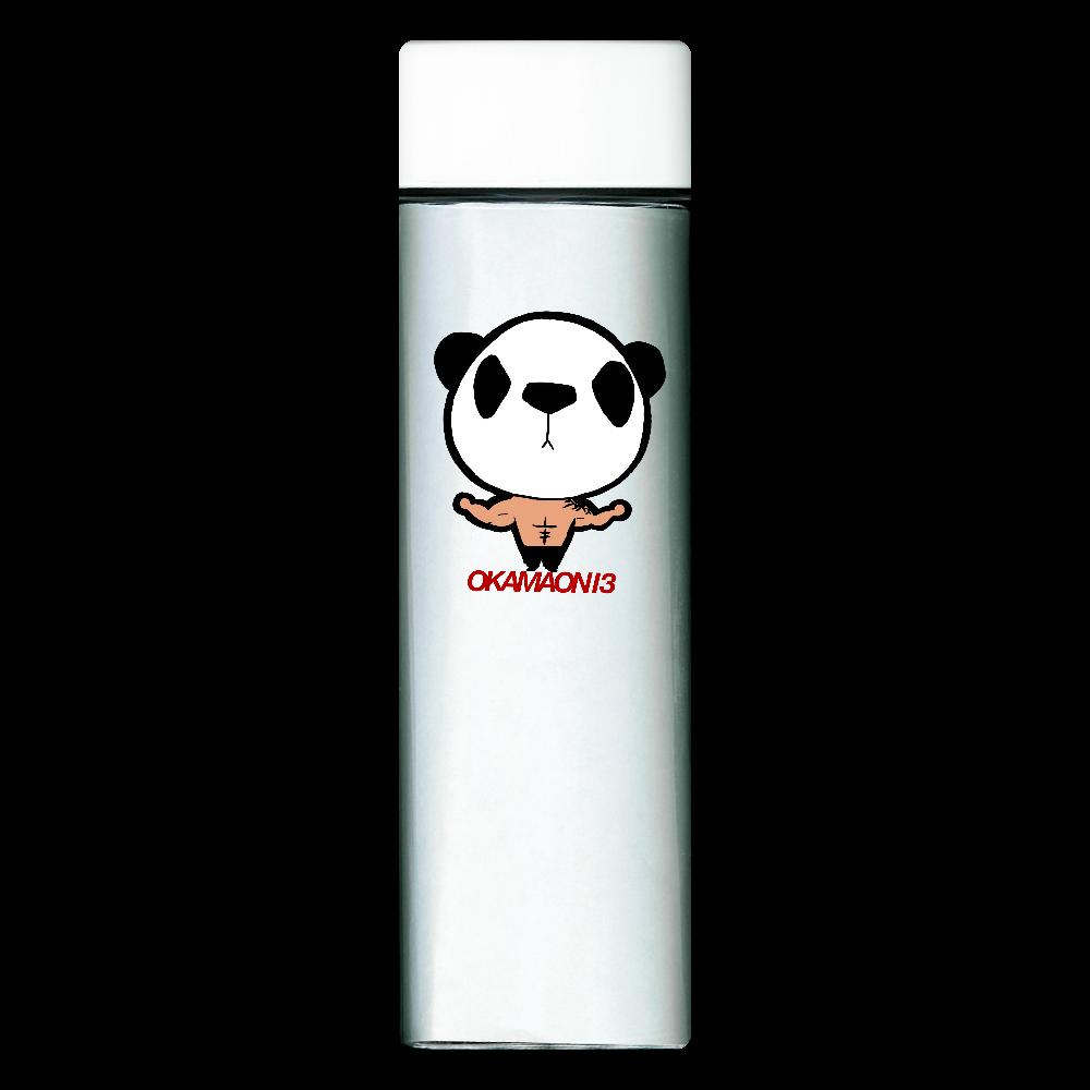パンダママボトル② スクエアクリアボトル