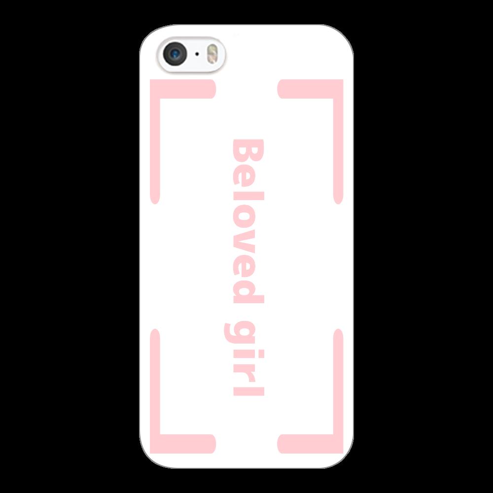 Beloved Girl iphone5c(透明)カバー iPhone5c(透明)