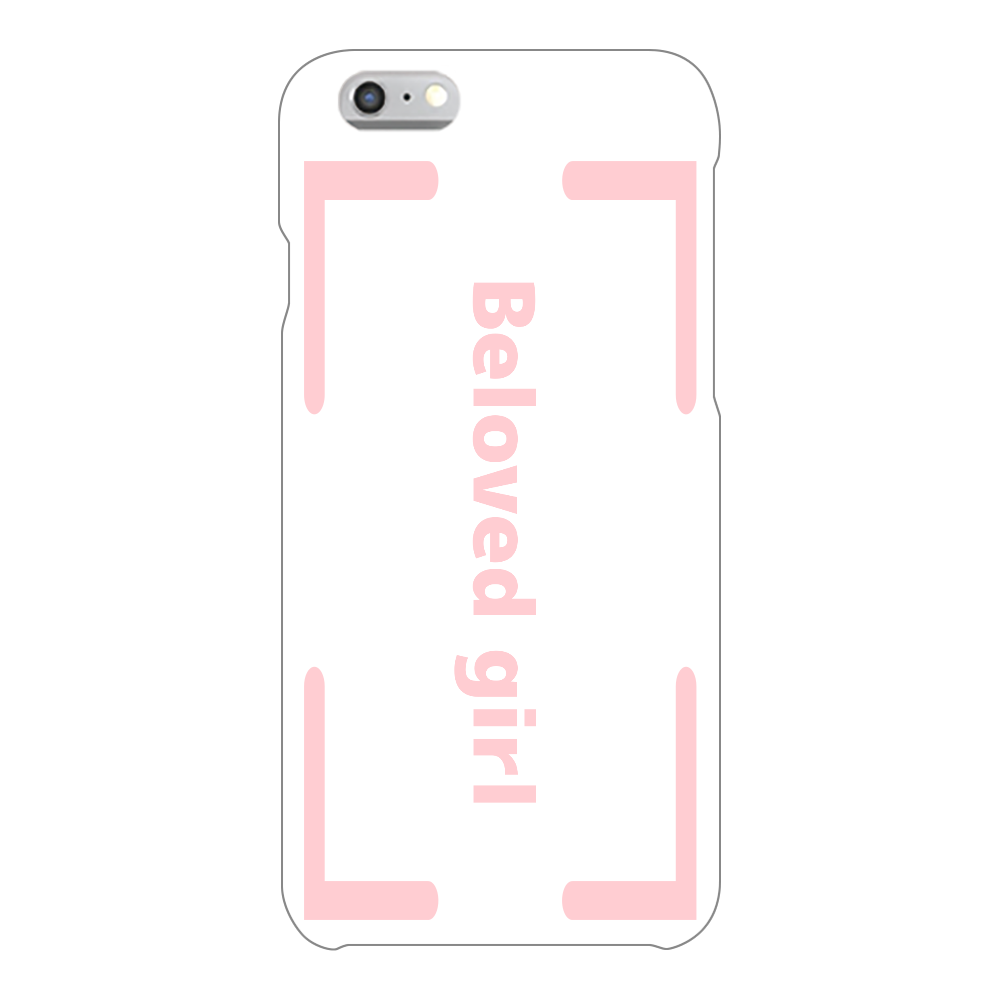 Beloved Girl iphone6/6s(透明)カバー iPhone6/6s(透明)