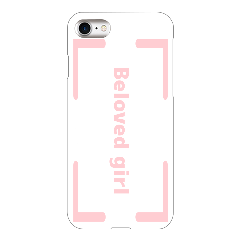 Beloved Girl iphone7(透明)カバー iPhone7(透明)