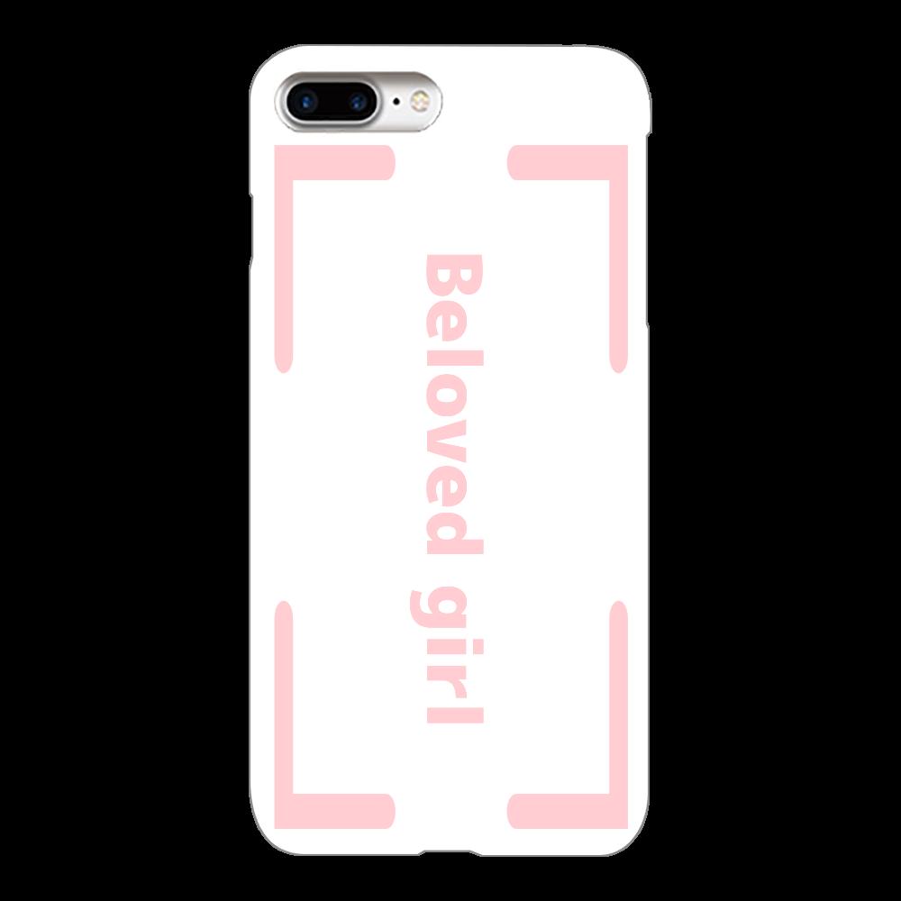 Beloved Girl iphone8Plus(透明)カバー iPhone8Plus(透明)