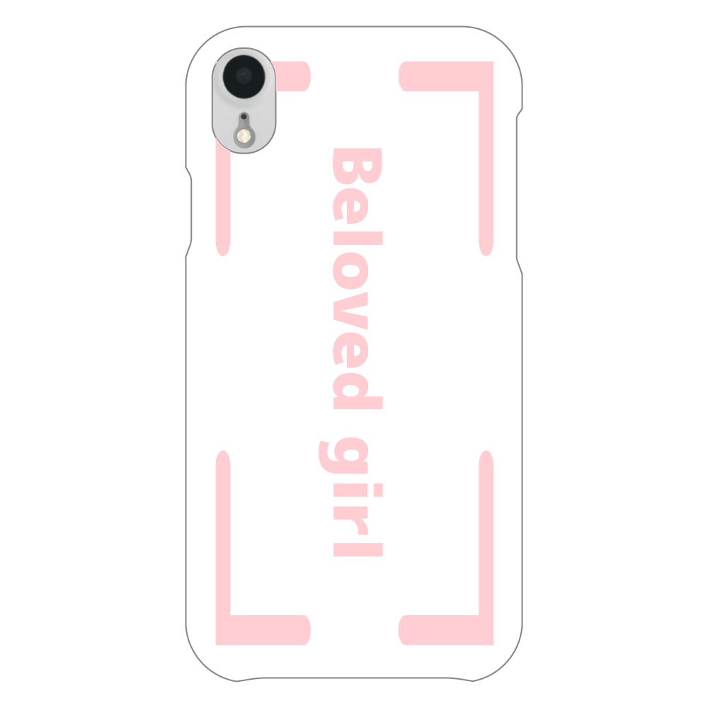 Beloved Girl iphoneXR(透明)カバー iPhoneXR(透明)