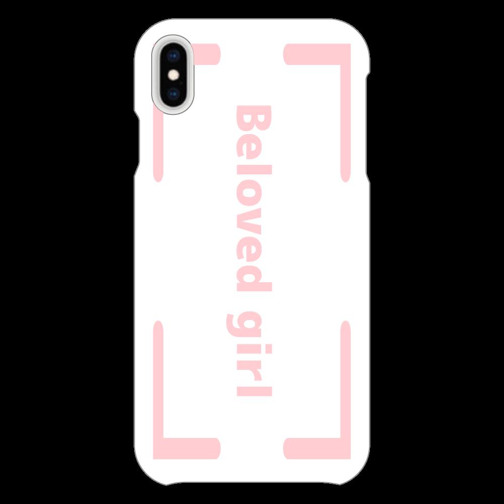 Beloved Girl iphoneXsMAX(透明)カバー iPhoneXsMAX(透明)