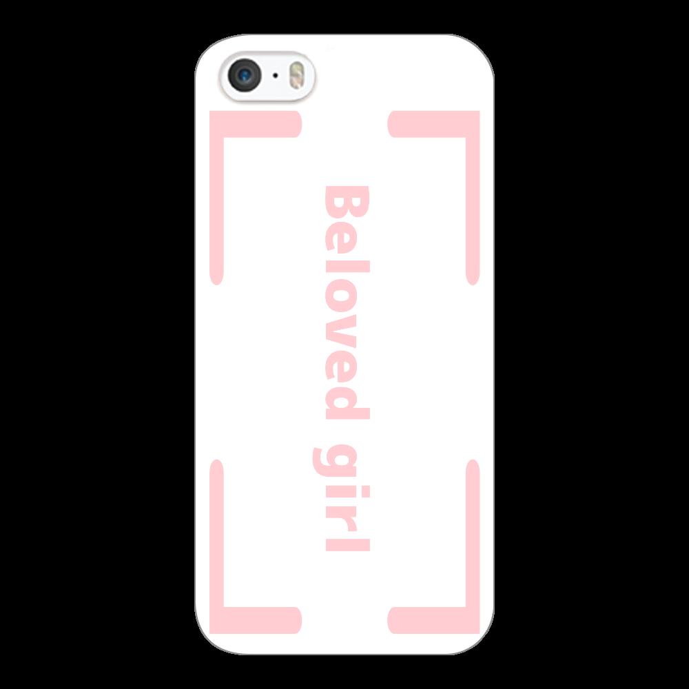 Beloved Girl iphone5c(白)カバー iPhone5c(白)