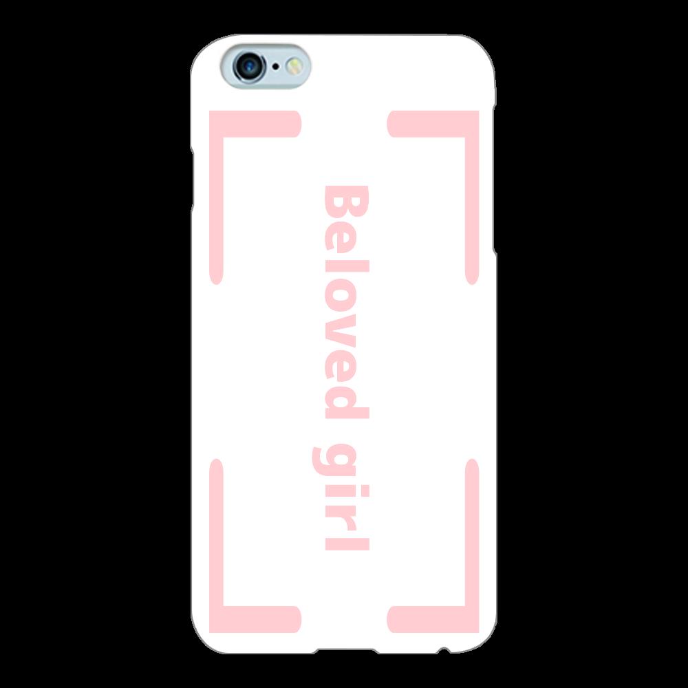Beloved Girl iphone6Plus/6s(白)カバー iPhone6Plus/6sPlus(白)