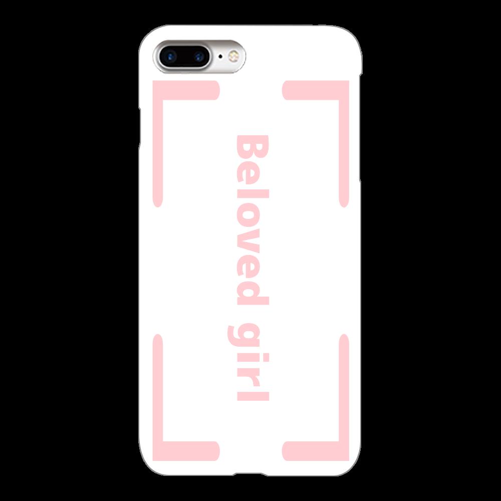 Beloved Girl iphone7Plus(白)カバー iPhone7Plus(白)