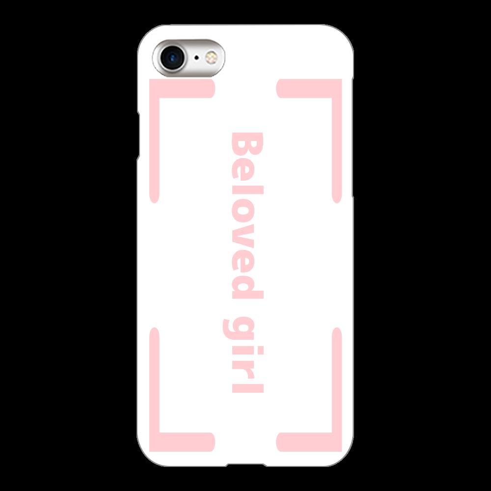 Beloved Girl iphone7(白)カバー iPhone7(白)