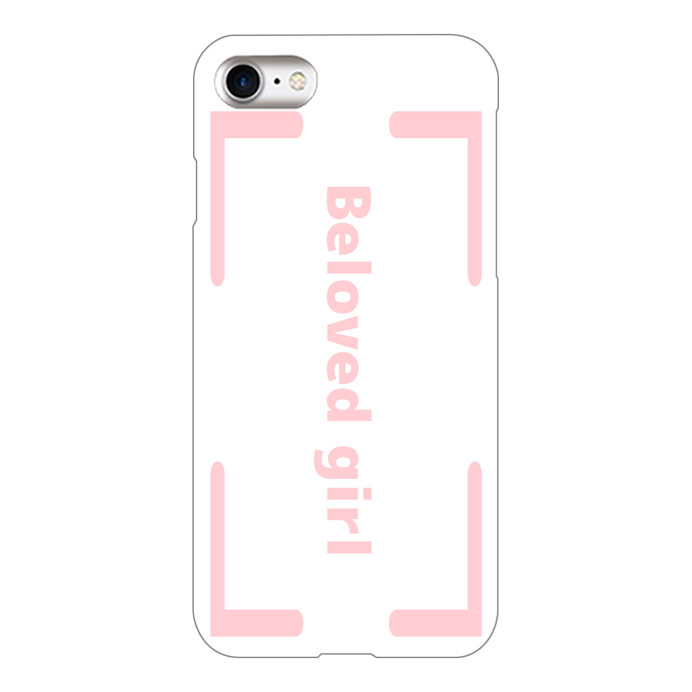 Beloved Girl iphone8(白)カバー iPhone8(白)