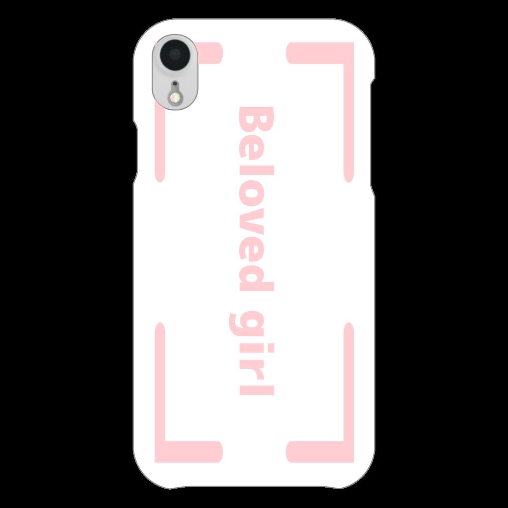 Beloved Girl iphoneXR(白)カバー iPhoneXR(白)