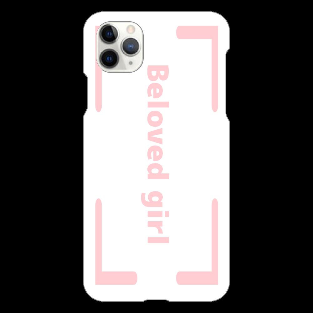 Beloved Girl iphone XI ProMax(白)カバー iPhone11 ProMax(白)