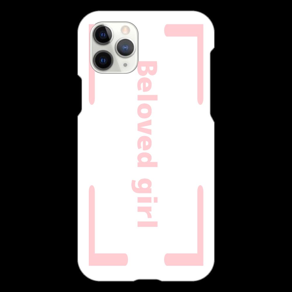Beloved Girl iphone XI Pro(白)カバー iPhone11 Pro(白)
