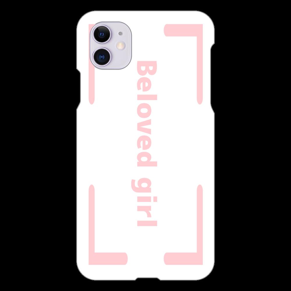 Beloved Girl iphone XI(白)カバー iPhone 11(白)