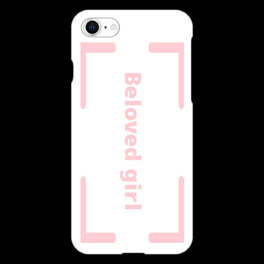 Beloved Girl iphoneSE2(白)カバー iphoneSE2(白)