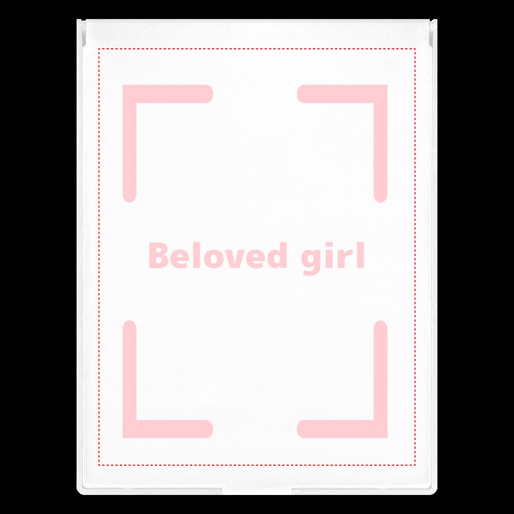Beloved Girl フロストスクエアミラー フロストスクエアミラー(L)