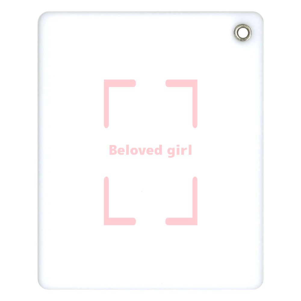Beloved Girl スライドアクリルミラー スライドアクリルミラー スクエア