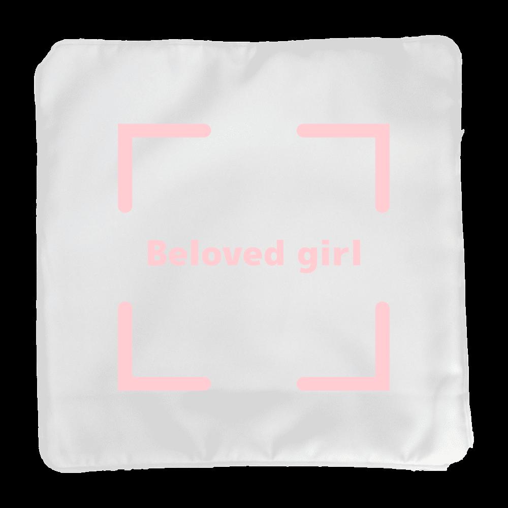 Beloved Girl クッションカバー(小) クッションカバー(小)カバーのみ