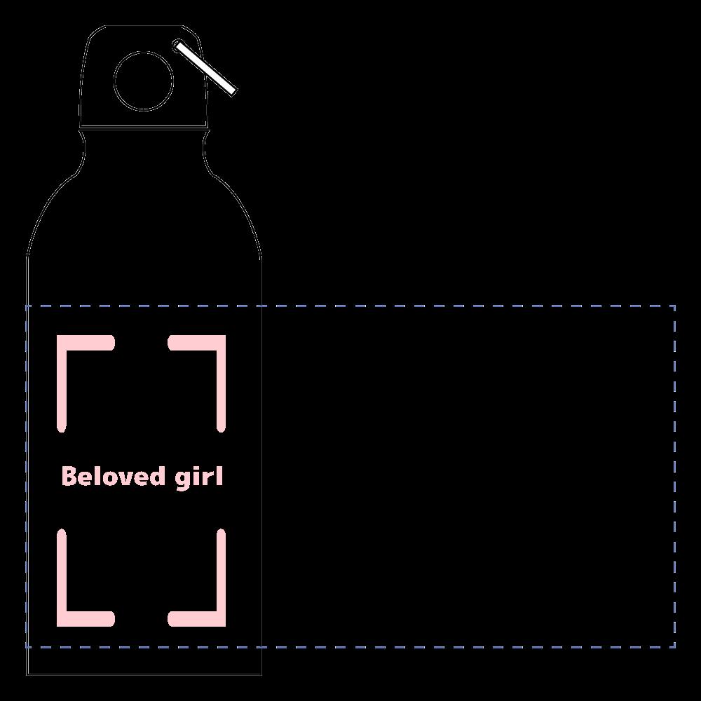 Beloved Girl アルミマウンテンボトル アルミマウンテンボトル(400ml)