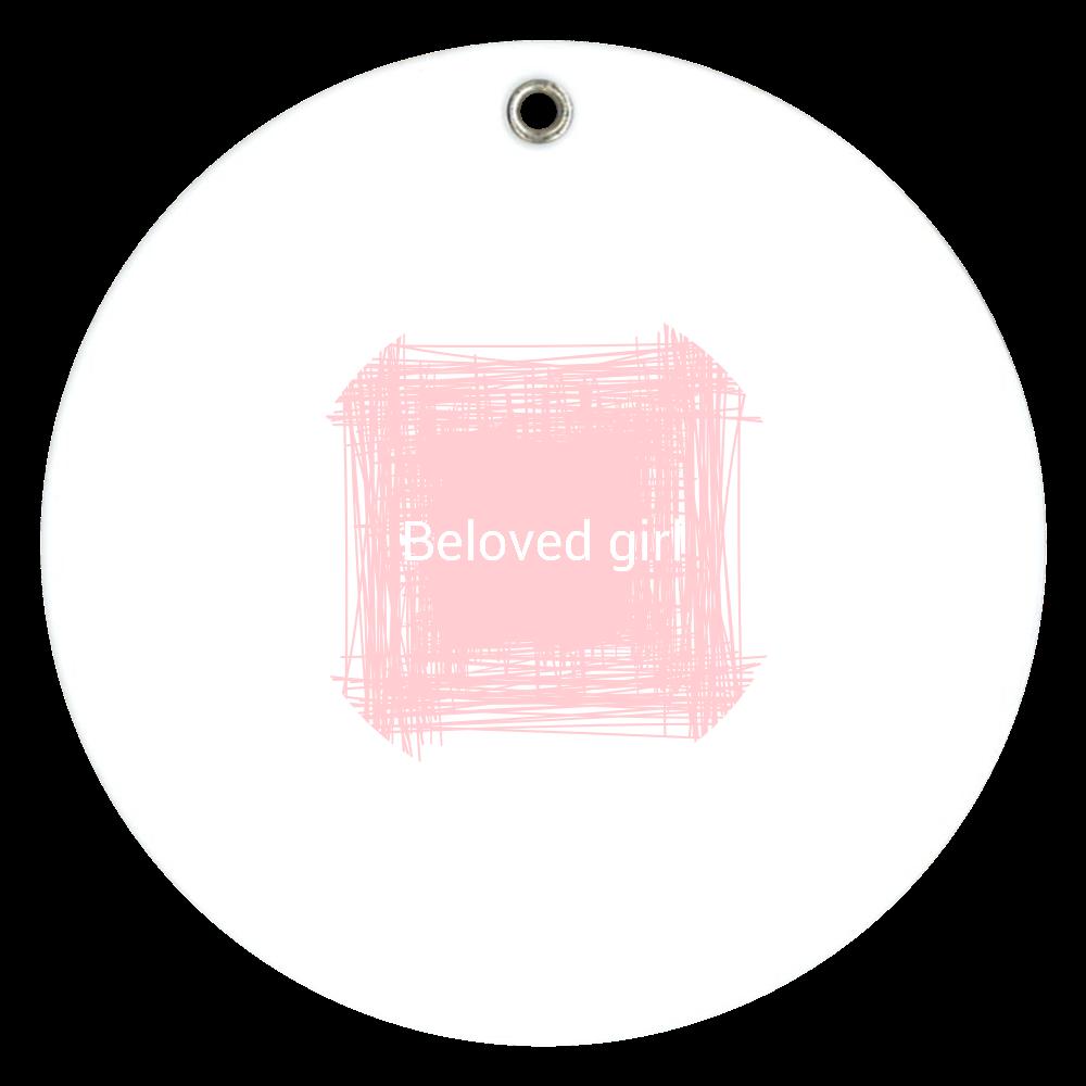 Beloved Girl スライドアクリルミラー スライドアクリルミラー ラウンド