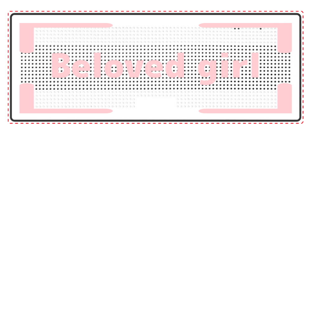 Beloved Girl Bluetooth スピーカー Bluetoothスピーカー 表のみプリント