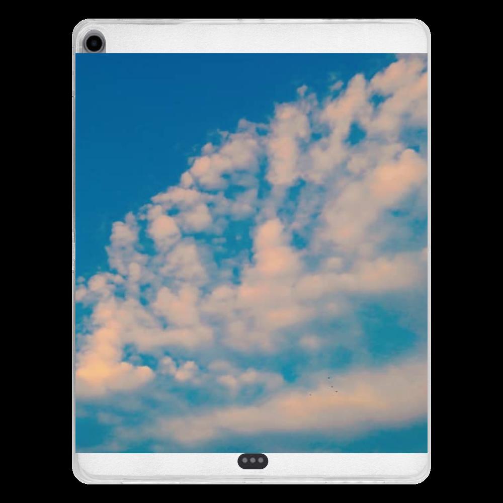 夕日の雲/夕焼け iPad Pro 12.9インチ(2018年モデル) タブレットケース