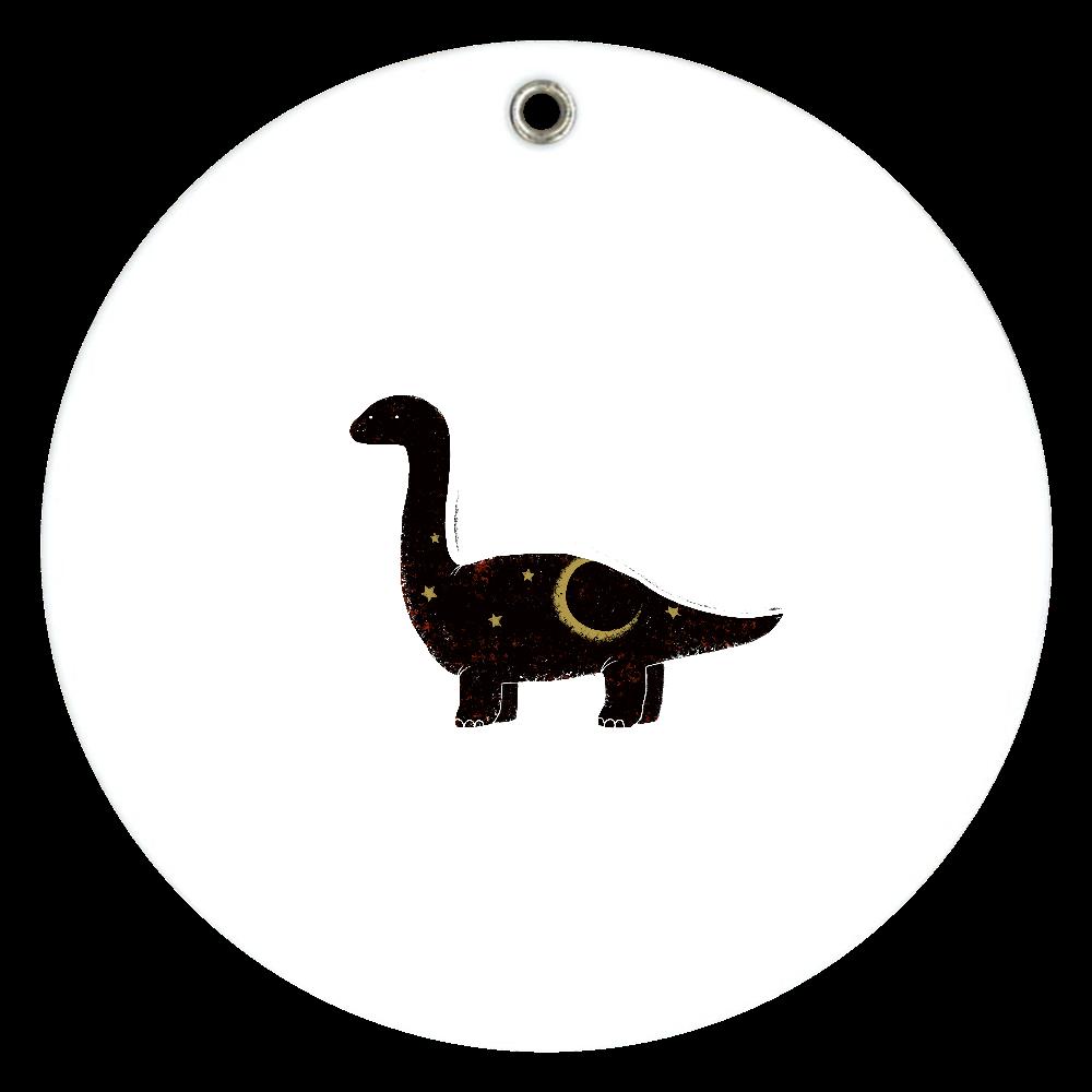 草食恐竜ちゃん スライドアクリルミラー ラウンド